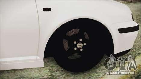 Volkswagen Golf 4 Romanian Edition para GTA San Andreas traseira esquerda vista