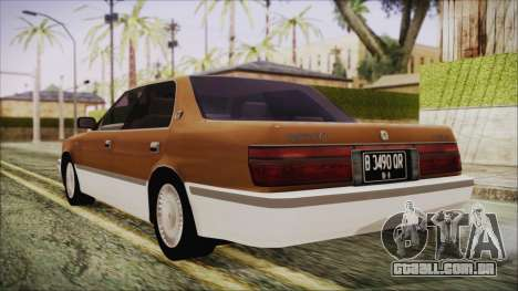 Toyota Crown Royal Saloon 1994 para GTA San Andreas esquerda vista