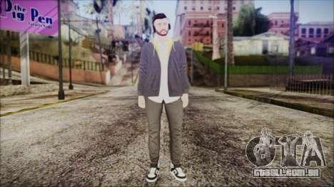 GTA Online Skin 13 para GTA San Andreas segunda tela