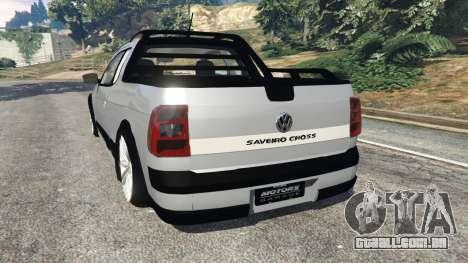 Volkswagen Saveiro G6 Cross para GTA 5