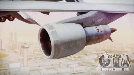 Boeing 747-237Bs Air India Krishna Deva Raya para GTA San Andreas vista direita