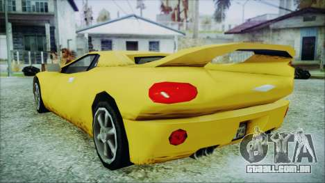Gangsta Infernus para GTA San Andreas esquerda vista
