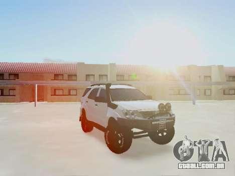 Toyota Fortuner 2012 TRD Off-Road para GTA San Andreas