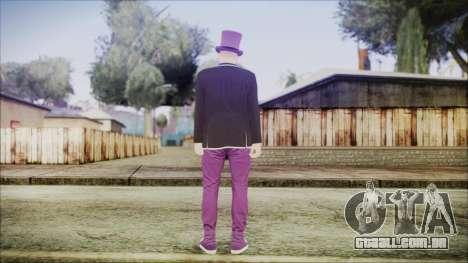 GTA Online Skin 20 para GTA San Andreas terceira tela