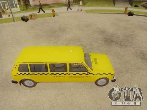 VAZ 2131 7-Porta de Táxi para GTA San Andreas vista direita