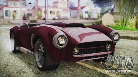 GTA 5 Declasse Mamba IVF para GTA San Andreas