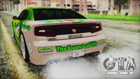 GTA 5 Bravado Buffalo Sprunk para GTA San Andreas vista superior