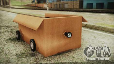 Kart-Box para GTA San Andreas vista direita