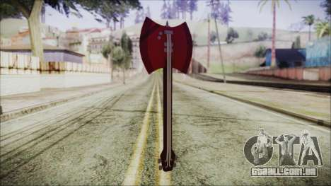 Axe Bass Marceline from Adventure Time para GTA San Andreas segunda tela