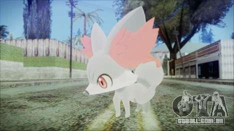 Fennekin Shiny (Pokemon XY) para GTA San Andreas segunda tela