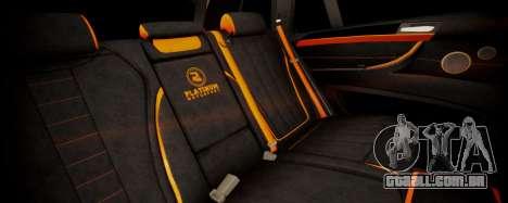 BMW X5M SMOTRA.GT para GTA San Andreas vista traseira
