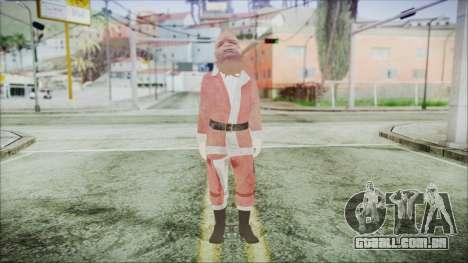 GTA 5 Santa Americano Africano para GTA San Andreas segunda tela