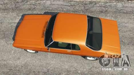 GTA 5 Holden Monaro GTS voltar vista