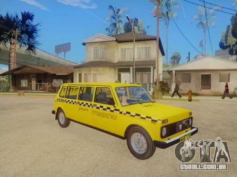 VAZ 2131 7-Porta de Táxi para GTA San Andreas esquerda vista