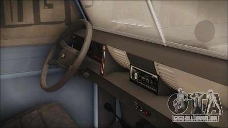 Land Rover Series 3 Off-Road para GTA San Andreas vista direita