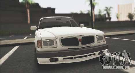 GAZ 3110 Stoke para GTA San Andreas esquerda vista