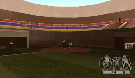 Beisebol para GTA San Andreas terceira tela