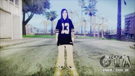 Una Chola para GTA San Andreas segunda tela