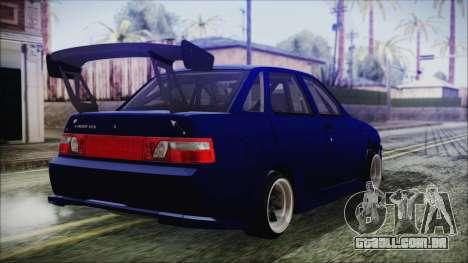 VAZ 2110 Esporte para GTA San Andreas esquerda vista