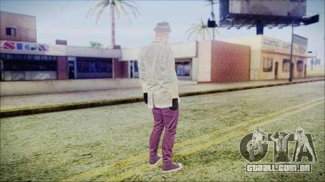 GTA Online Skin 7 para GTA San Andreas terceira tela