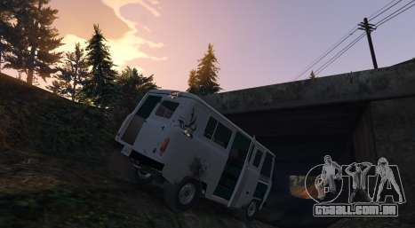 GTA 5 UAZ 3962 [BETA] 1.2 vista lateral esquerda