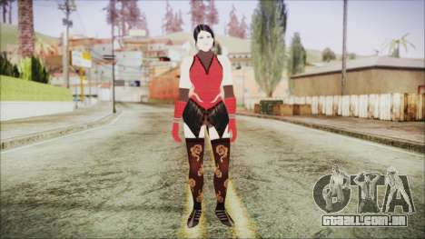 Tekken Tag Tournament 2 Zafina Dress v1 para GTA San Andreas segunda tela