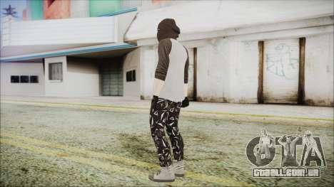 GTA Online Skin 8 para GTA San Andreas terceira tela