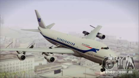 Boeing 747-283BM Scandinavian Airlines para GTA San Andreas
