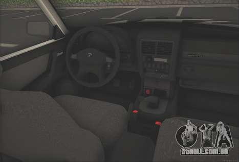 GAZ 3110 Stoke para GTA San Andreas vista direita