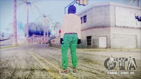 GTA Online Skin 56 para GTA San Andreas terceira tela