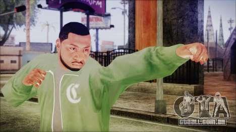 GTA 5 Grove Gang Member 1 para GTA San Andreas