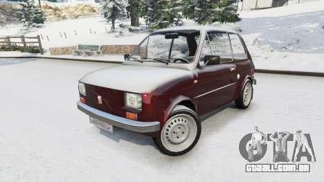 GTA 5 Fiat 126p v1.2 vista lateral direita