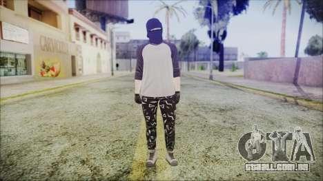 GTA Online Skin 8 para GTA San Andreas segunda tela