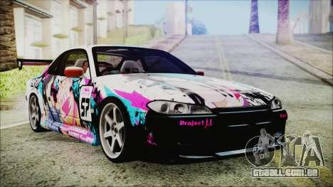Nissan Silvia S15 Itasha Beta para GTA San Andreas