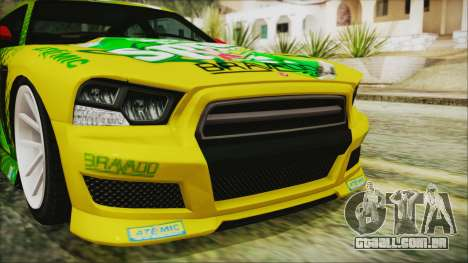 GTA 5 Bravado Buffalo Sprunk para GTA San Andreas vista interior