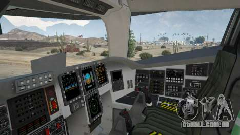 GTA 5 B-2A Spirit Stealth Bomber sexta imagem de tela