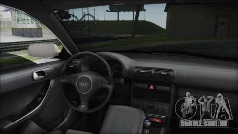 Audi A3 1.8 S3 para GTA San Andreas vista traseira
