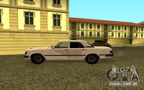 GAZ 3110 Volga para GTA San Andreas esquerda vista