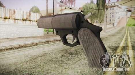 GTA 5 Flare Gun - Misterix 4 Weapons para GTA San Andreas segunda tela