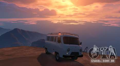 GTA 5 UAZ 3962 [BETA] 1.2 traseira vista lateral esquerda