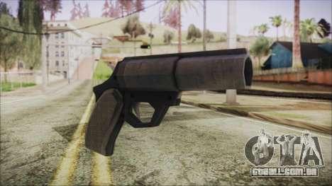 GTA 5 Flare Gun - Misterix 4 Weapons para GTA San Andreas