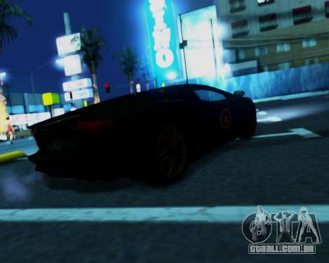 Amazing Camera para GTA San Andreas segunda tela