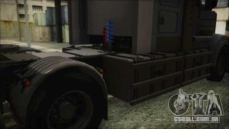 Kenworth T908 v1.0 para GTA San Andreas vista traseira