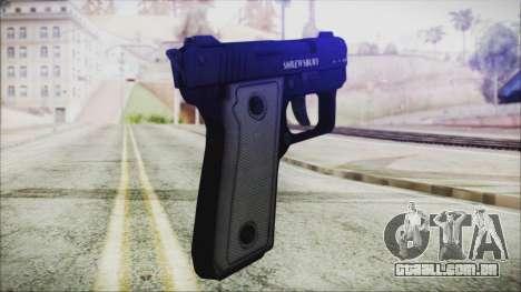 GTA 5 SNS Pistol - Misterix 4 para GTA San Andreas segunda tela