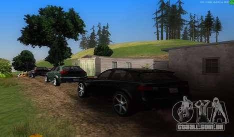 Não há melhor maneira para GTA San Andreas segunda tela
