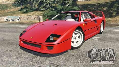 Ferrari F40 1987 para GTA 5