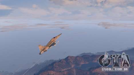 Northrop F-5E Tiger II USA para GTA 5
