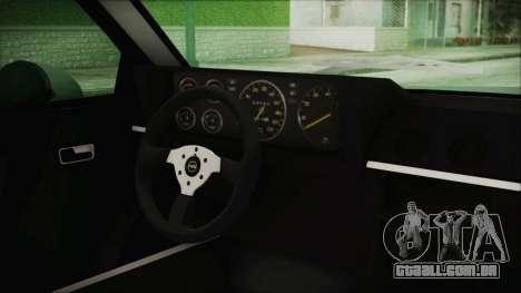 Opel Manta GSi Exclusive para GTA San Andreas vista direita