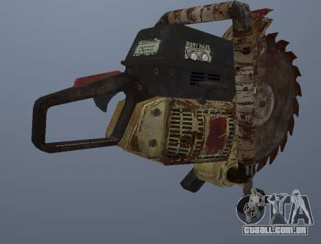 Manual De Serra Circular para GTA San Andreas terceira tela