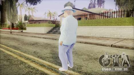 World In Conflict Old Lady para GTA San Andreas terceira tela